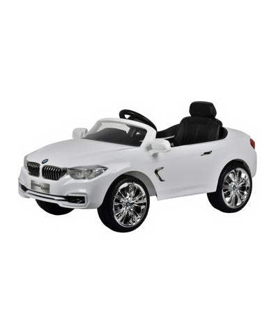 BMW 4Series Coup white Colour Battery Operated Ride on