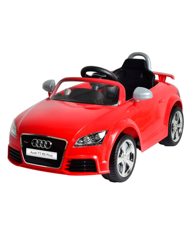 Audi TT RS Plus Red Color  Battery Operated Ride on Car