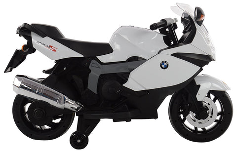 BMW kids bike Original Licensed 12 volt battery operated with three speed control white