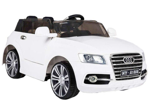Audi Q7 White Color Battery Operated Ride on Car