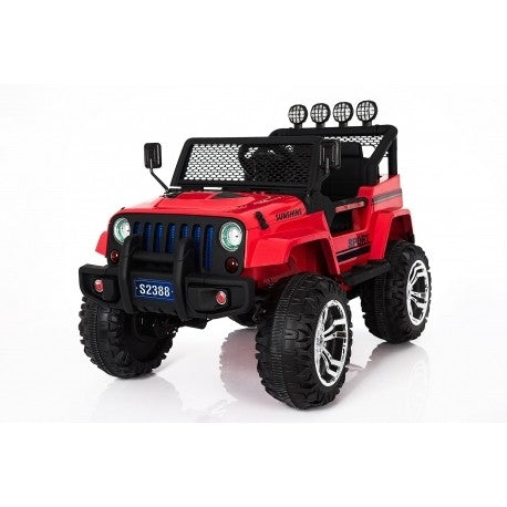 Jeep Sport  electric ride on car - Red