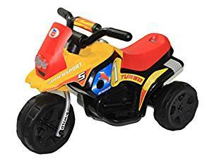 Brunte Mini Turbo 318 Red Yellow colour Battery Operated Ride on