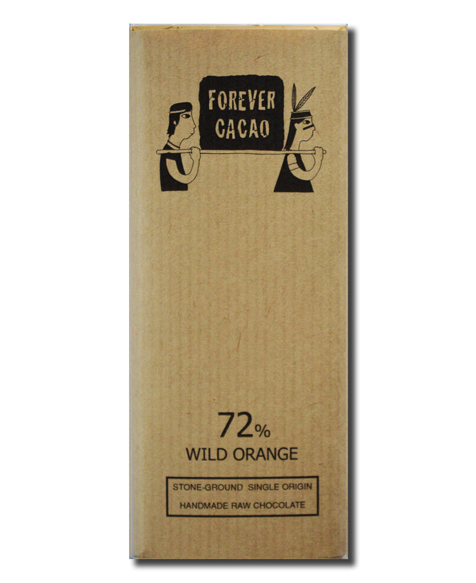 72% Ashaninka Bean to Bar infused with Wild Orange