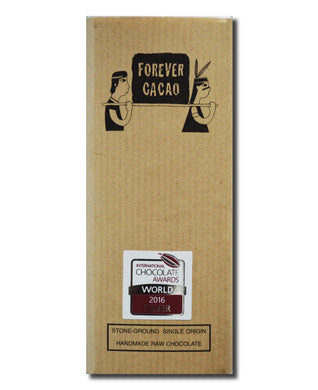 72% Ashaninka Bean to Bar 2016 European & World Silver International Chocolate Award Winner