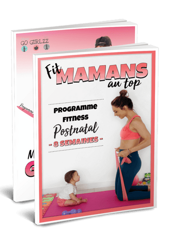 "Package ""Ma Grossesse au Top + ""Fitmamans au Top"""