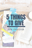 5 Things to Give: Bookworm Edition
