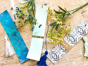 Kaleidoscope of Colours, Galaxy Away | Handmade Bookmarks with Tassels | Thoughtfully Handmade