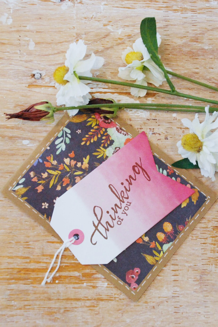 "Tag It | red ""thinking of you"" variant 