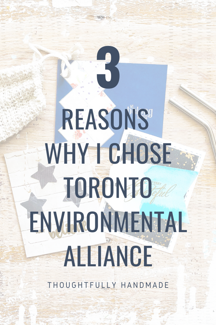 3 Reasons Why I Chose Toronto Environmental Alliance | Thoughtfully Handmade