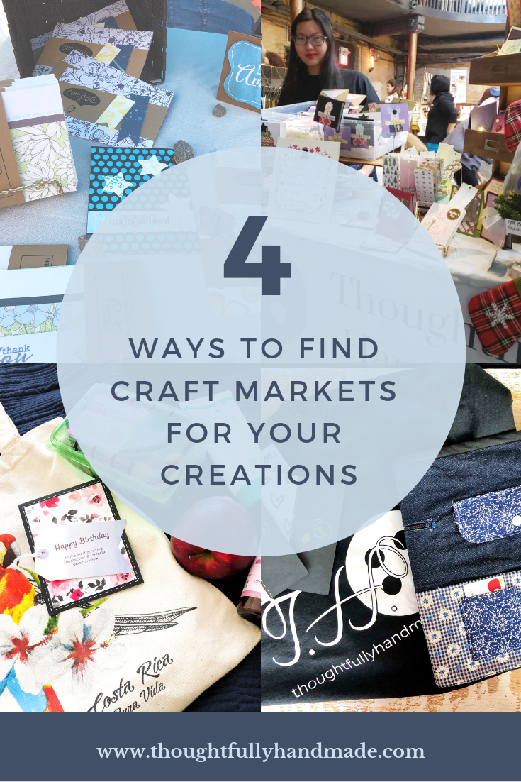 4 ways to find craft markets to sell your handmade creations | Thoughtfully Handmade