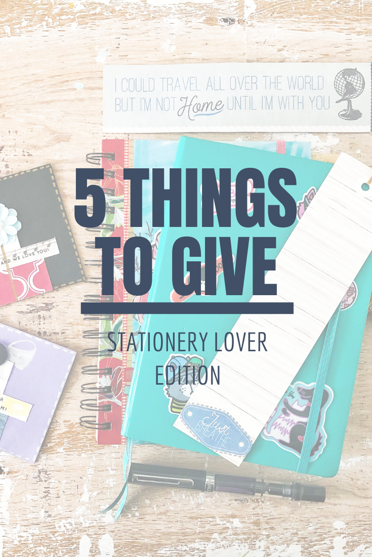 5 Things to Give: Stationery Lover Edition | Thoughtfully Handmade