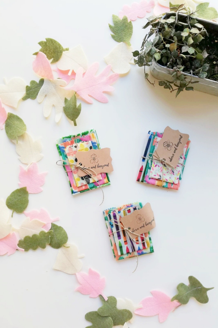 Above and Beeyond | Handmade Beeswax Wraps | 5 Things to Give: Best Friend Edition | Thoughtfully Handmade