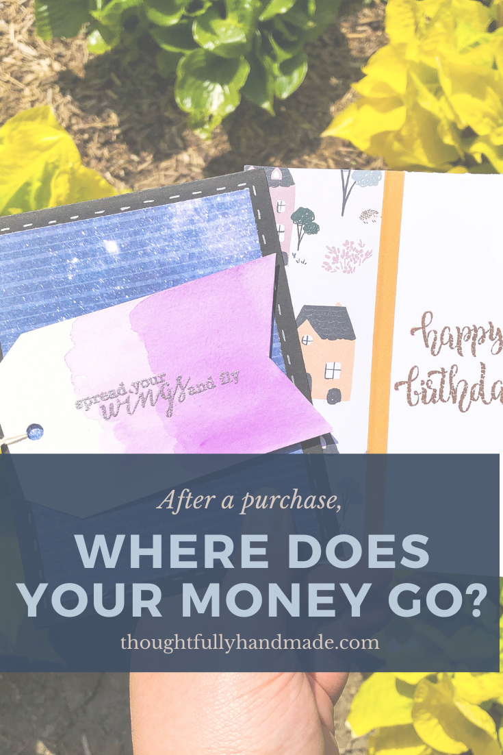 After a Purchase, Where Does Your Money Go? | Thoughtfully Handmade