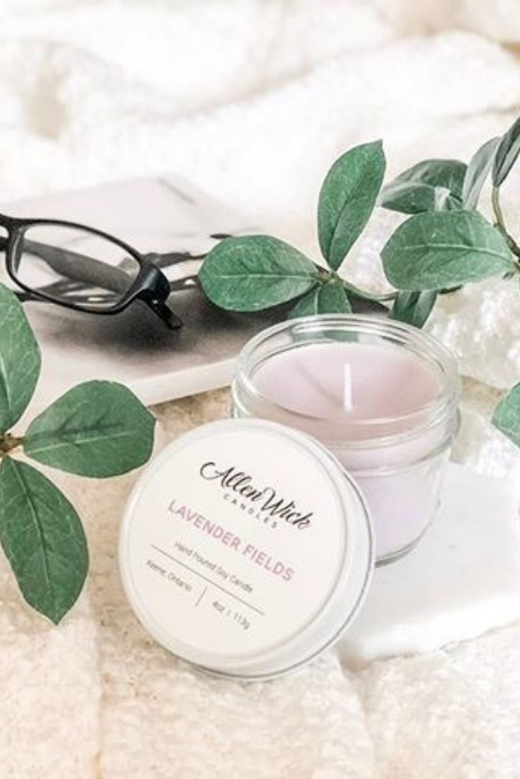 Allen Wick Candles | dessert scented candle, small size | 5 Things to Give: Feminine Birthday Edition | Thoughtfully Handmade