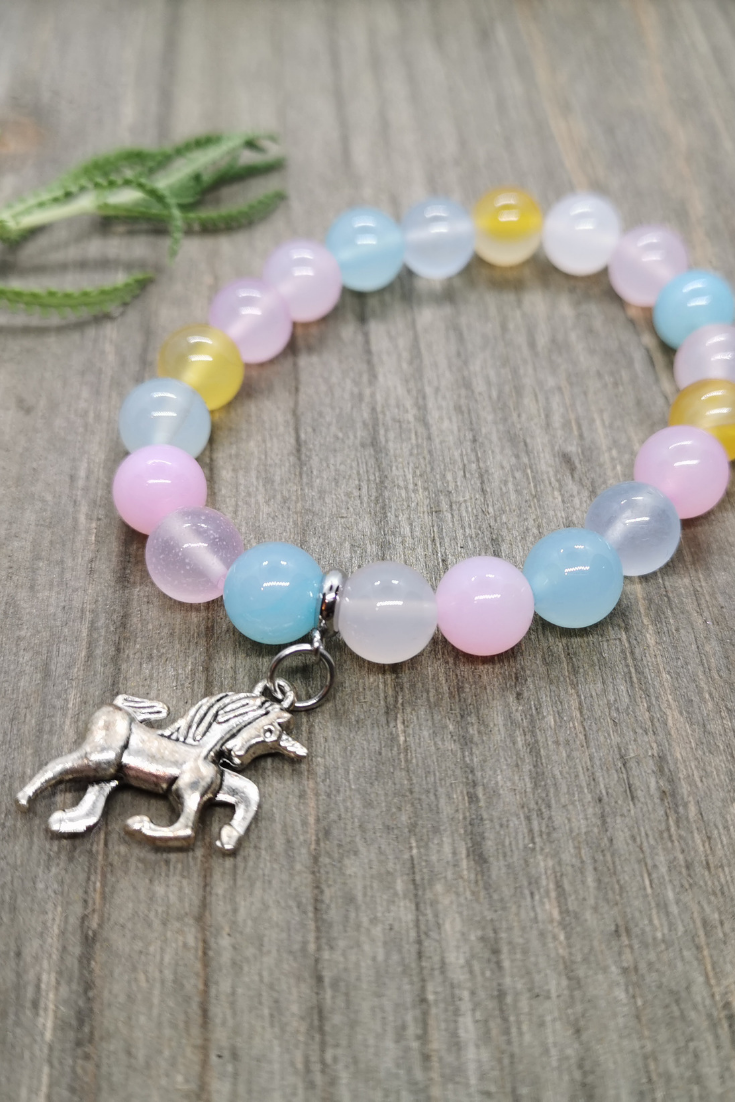 Art Arrows | unicorn-themed intention bracelet | 5 Things to Give: Feminine Birthday Edition | Thoughtfully Handmade