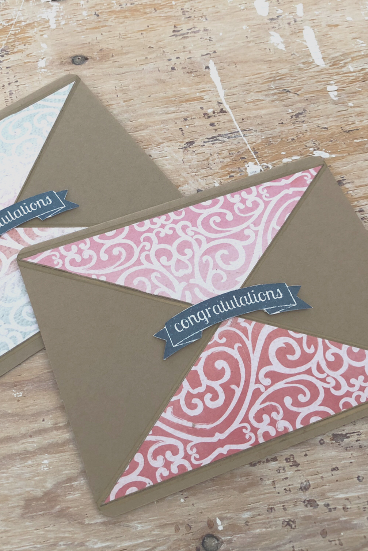 Bohemian Whirl handmade congratulations card | Thoughtfully Handmade