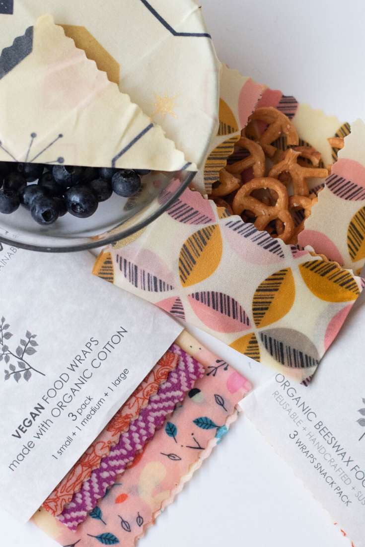 Earthology | Beeswax and vegan food wraps | 5 Things to Give: Zero Waste Edition | Thoughtfully Handmade