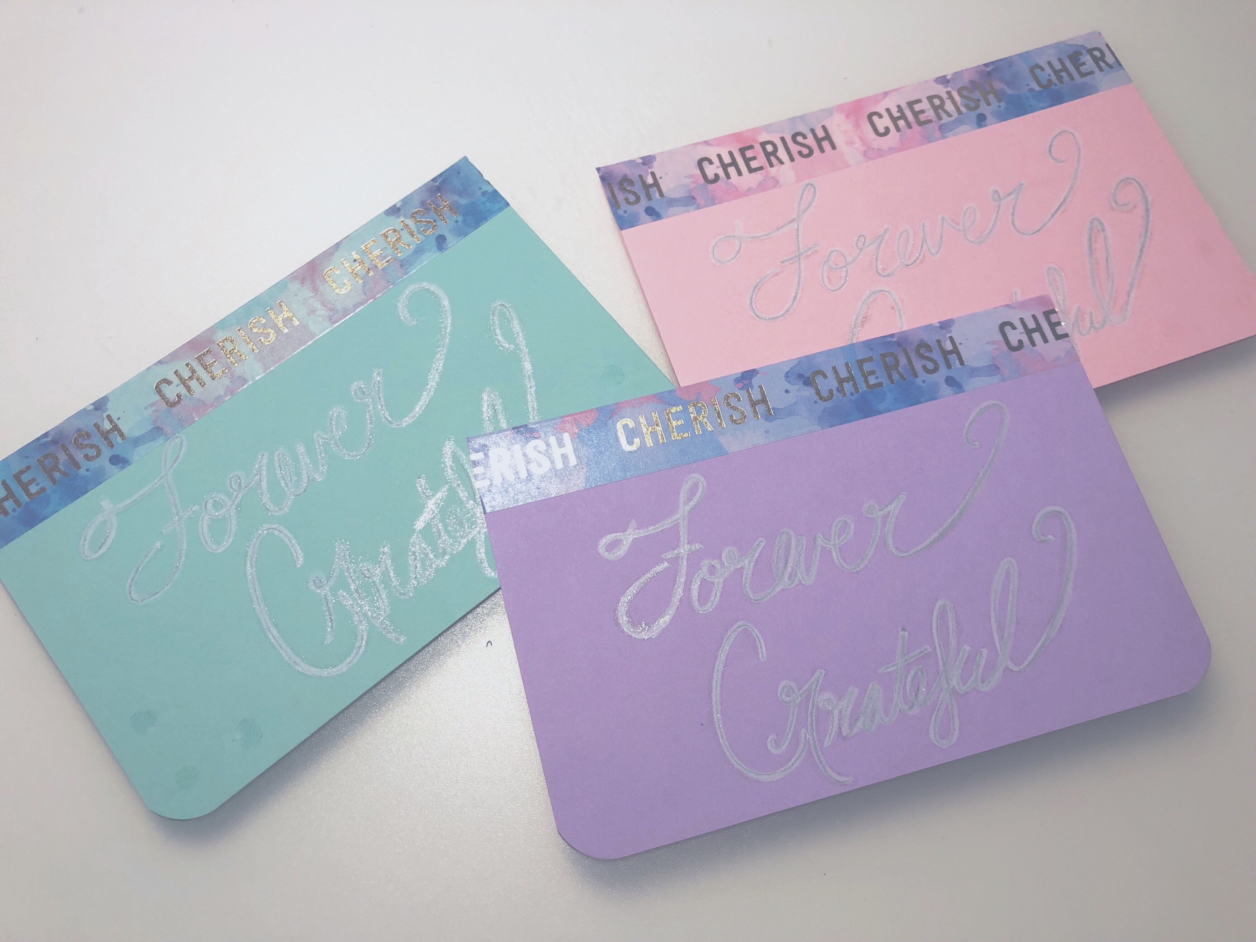 Before card transformation | 3 easy steps to transform your card | Thoughtfully Handmade