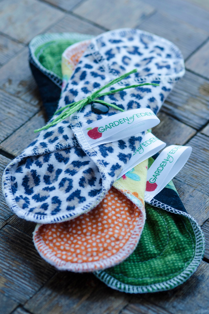 Garden of Eden Reusables | Cloth pads and period products | 5 Things to Give: Zero Waste Edition | Thoughtfully Handmade