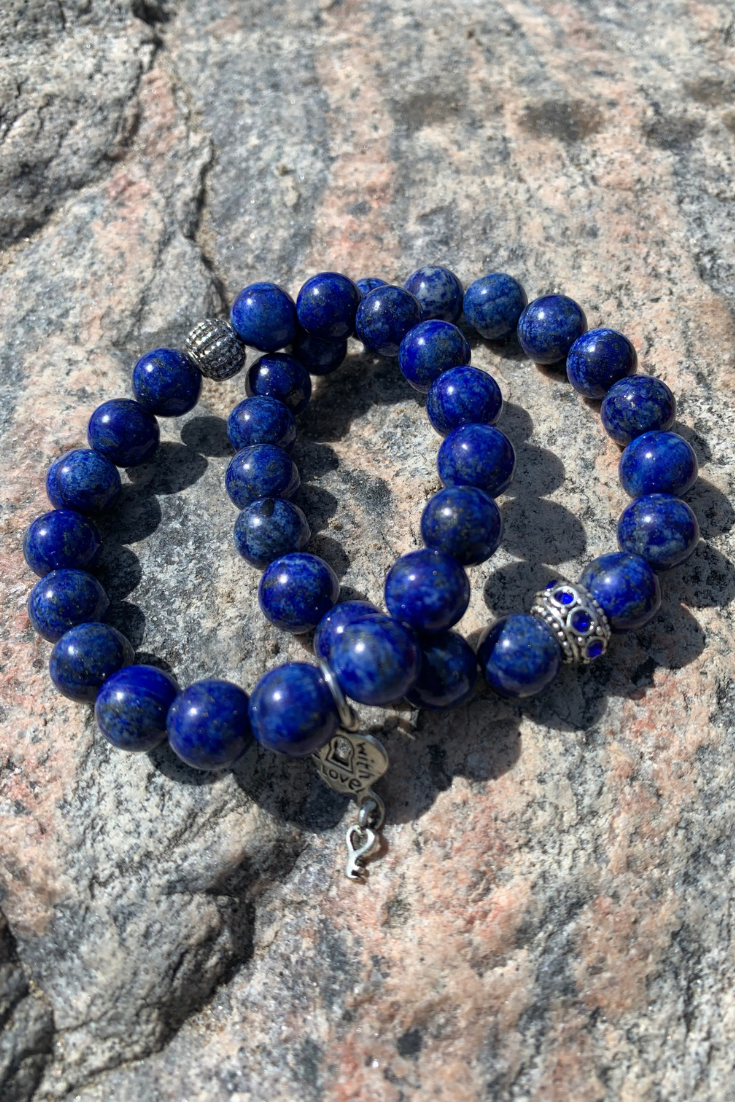 Jemstone Destiny | indigo intention bracelets | 5 Things to Give: Mental Health Edition | Thoughtfully Handmade