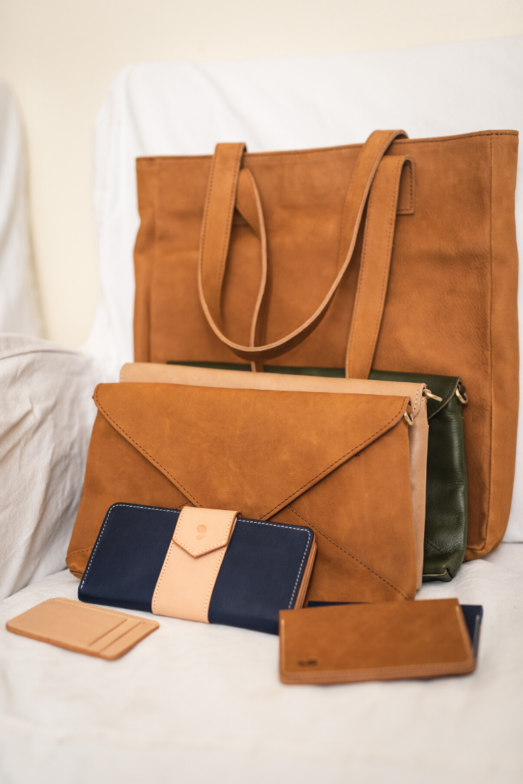 Majas | Handmade leather goods | 5 Things to Give: Travel Lover Edition | Thoughtfully Handmade