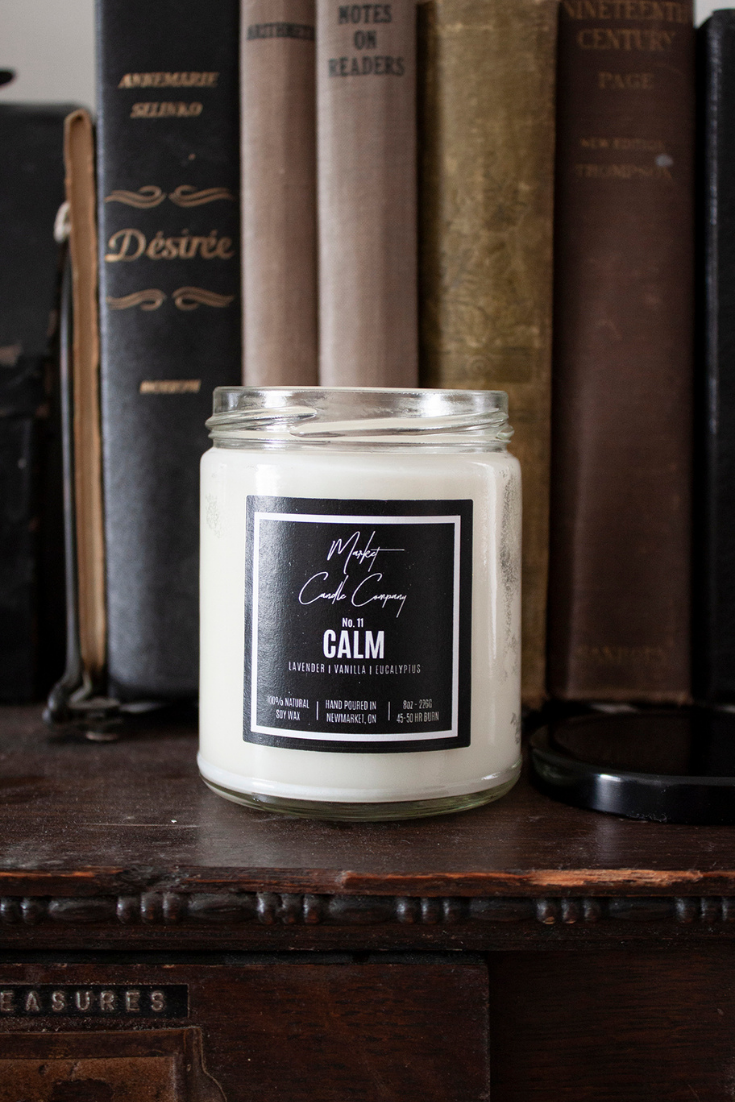 Market Candle Company | Minimal Hand-poured Candles | 5 Things to Give: Bookworm Edition | Thoughtfully Handmade