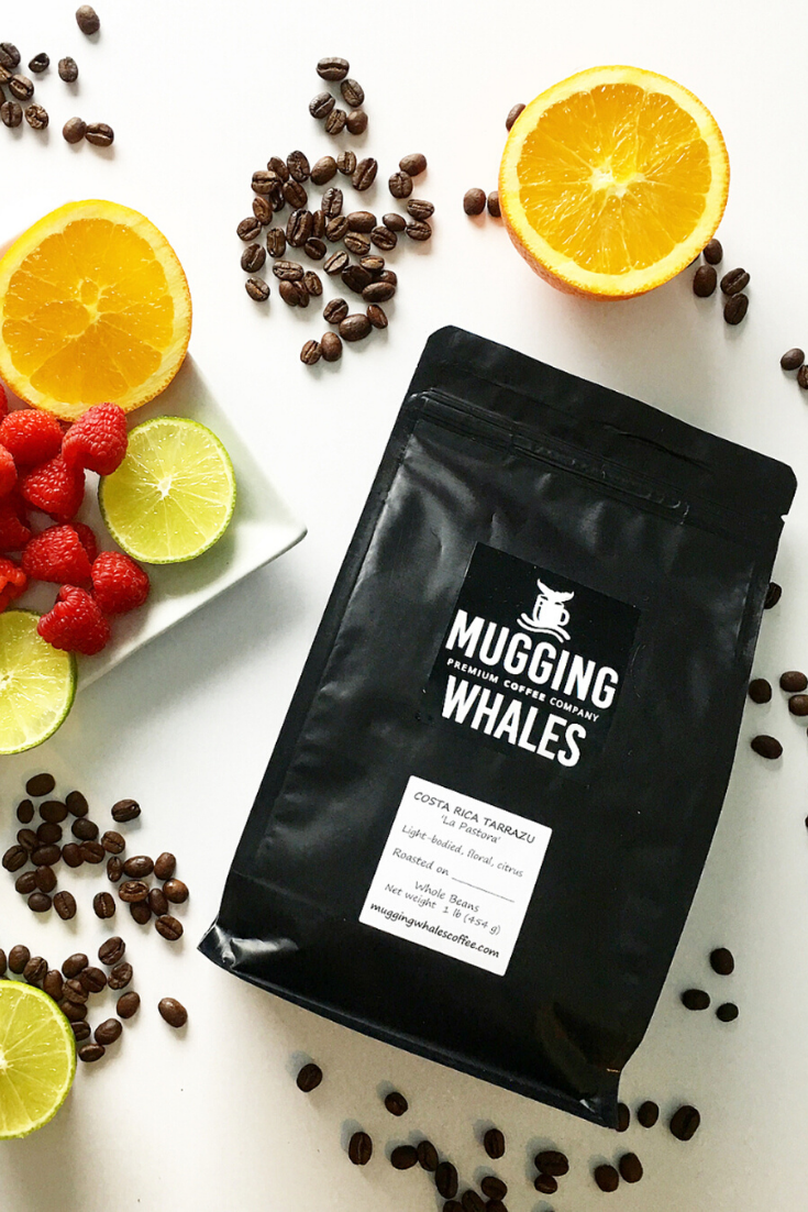 Mugging Whales Premium Coffee Co. | Unique coffee blends |  5 Things to Give: Goal-Setting Edition | Thoughtfully Handmade