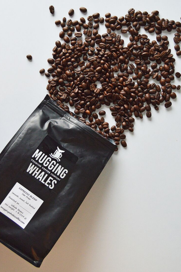 Mugging Whales Premium Coffee Co. | Hand-roasted exotic coffee | 5 Things to Give: Thanksgiving Host/Hostess Edition | Thoughtfully Handmade