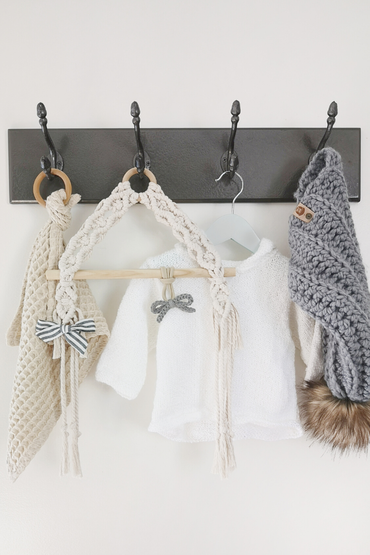 Paws N Tots | Handmade macrame baby accessories | 5 Things to Give: Baby Shower Edition | Thoughtfully Handmade