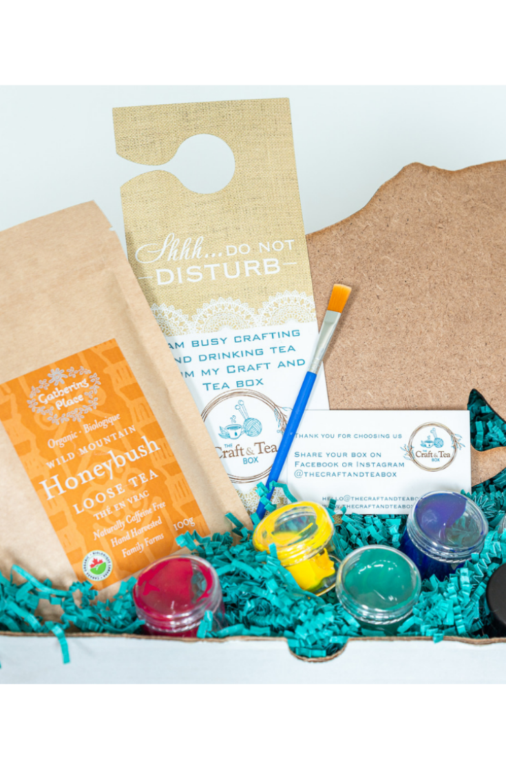 The Craft and Tea Box   Craft Subscription Box   5 Things to Give: Anniversary Edition   Thoughtfully Handmade