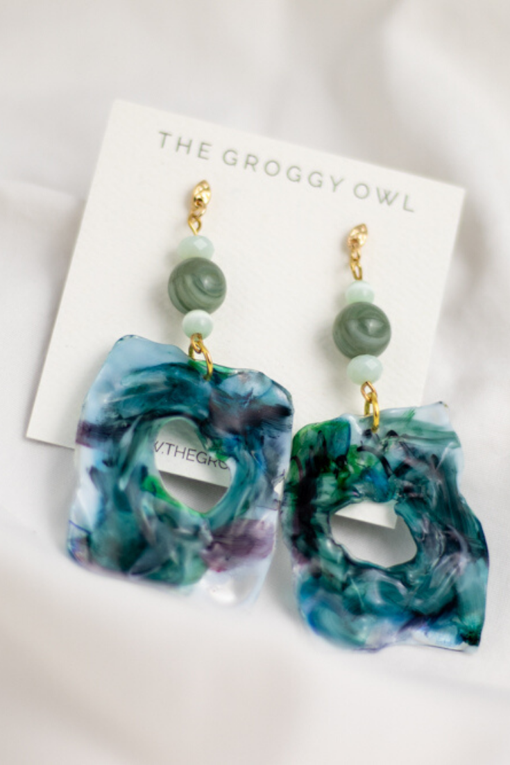 The Groggy Owl | Sustainable Canadian handmade jewellery pieces | 5 Things to Give: Zero Waste Edition | Thoughtfully Handmade