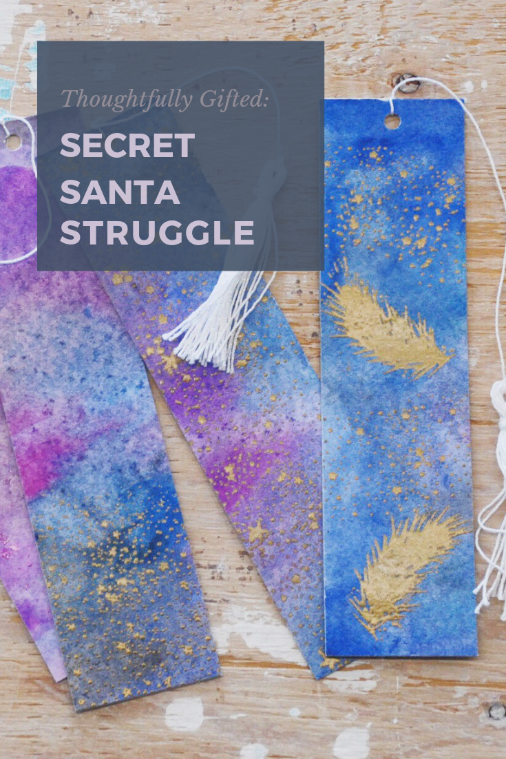 Thoughtfully Gifted: Secret Santa Struggle | Thoughtfully Handmade