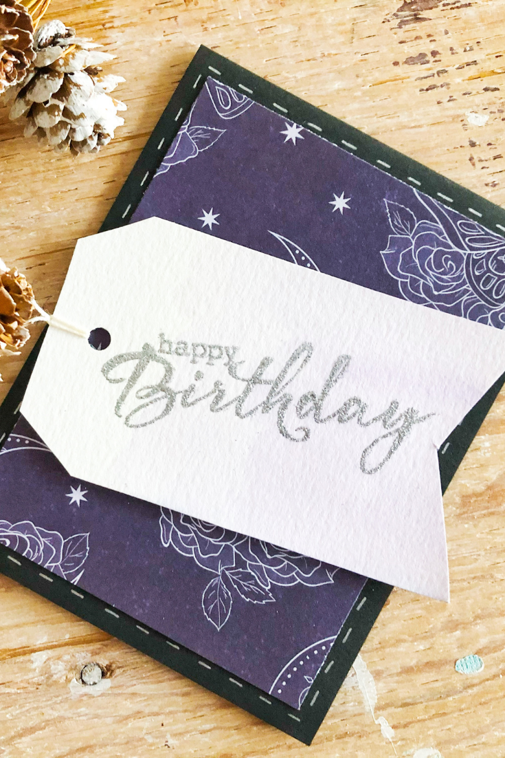 Birthday Bonanza | Handmade Birthday Card | 5 Things to Give: Winter Birthday Edition | Thoughtfully Handmade