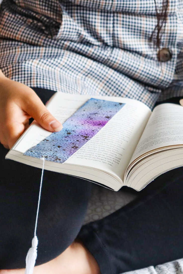 Galaxy Away | handmade bookmarks | 5 Things to Give: Stationery Lover Edition | Thoughtfully Handmade