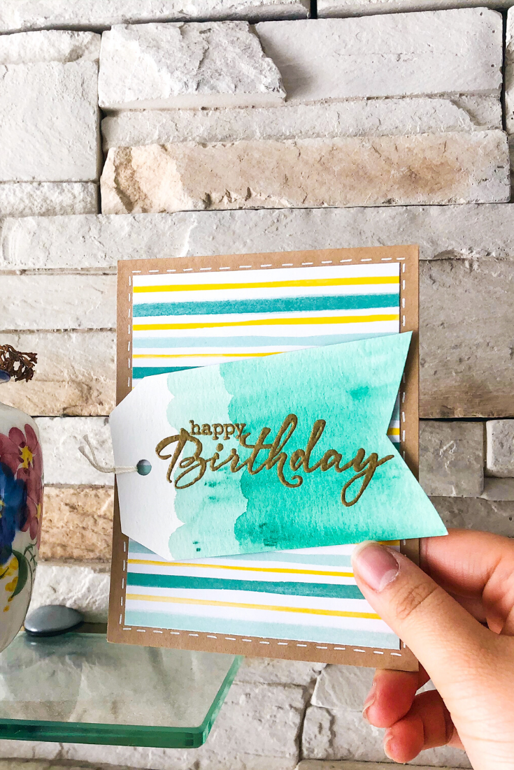 Birthday Bonanza | Handmade birthday card | 5 Things to Give: Zero Waste Edition | Thoughtfully Handmade