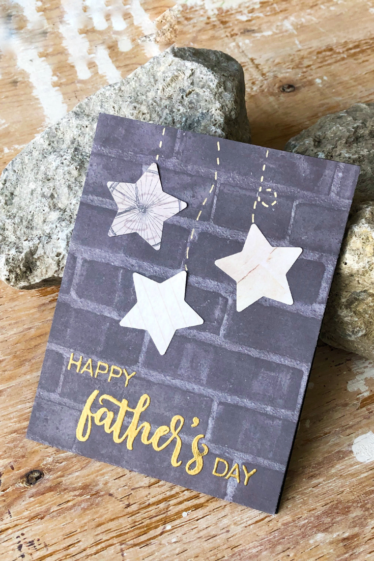 Starry Delight | handmade Father's Day card | Thoughtfully Gifted: Father's Day Frenzy | Thoughtfully Handmade