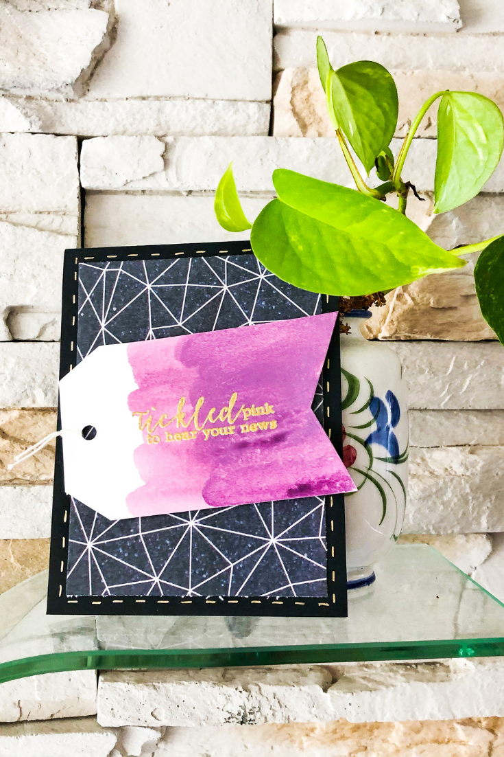 Surprise of a Lifetime | Handmade Congratulations Card | 5 Things to Give: Housewarming Edition | Thoughtfully Handmade