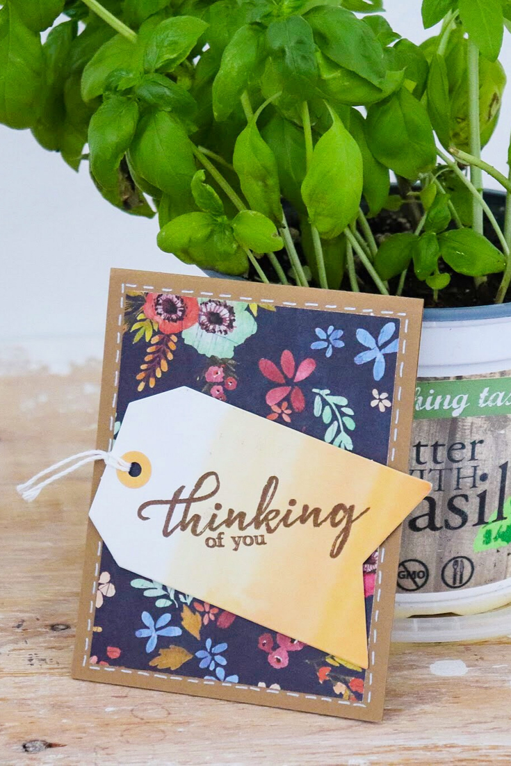 Tag It | handmade greeting card | 5 Things to Give: Fall Lover Edition | Thoughtfully Handmade