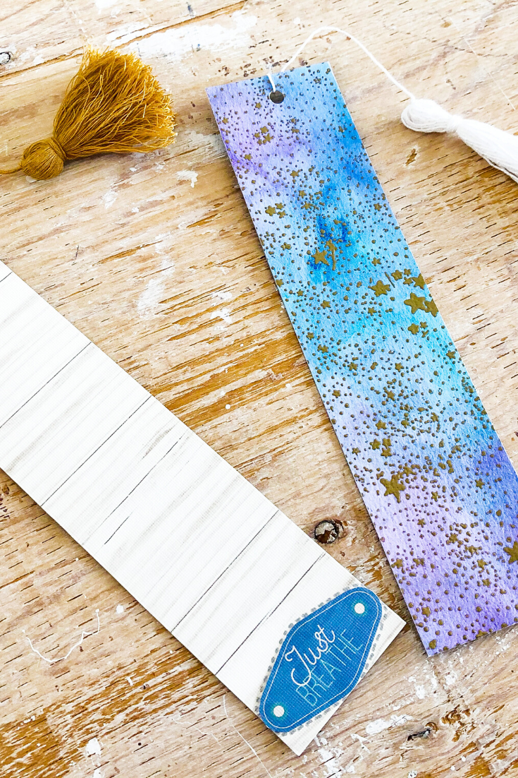 Kaleidoscope of Colours and Galaxy Away | Handmade bookmarks | 5 Things to Give: Zero Waste Edition | Thoughtfully Handmade