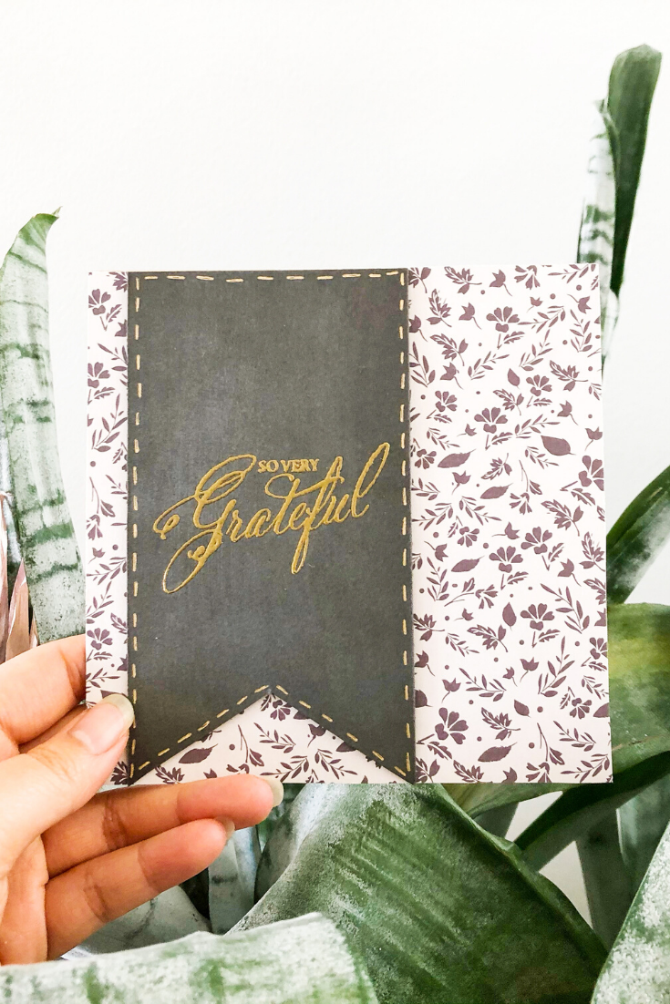 Warm Gratitude | Handmade Thank You Card | 5 Things to Give: Wedding Edition | Thoughtfully Handmade