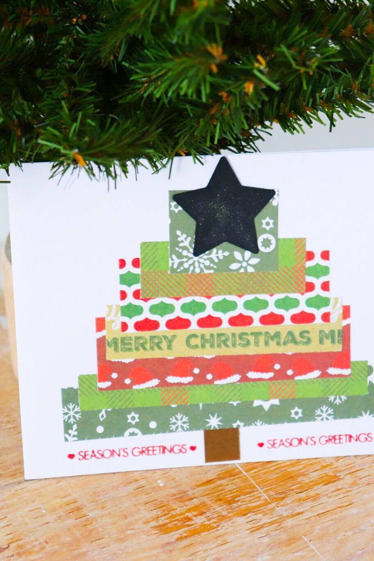 Stack O'Trees | Handmade Christmas Card | 5 Things to Give: Christmas 2019 Edition | Thoughtfully Handmade