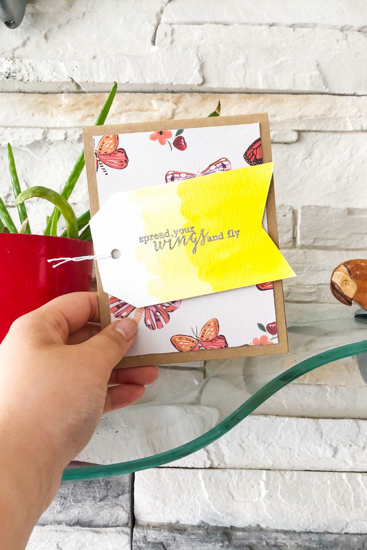 Encouragement | Handmade Congratulations Card | 5 Things to Give: Housewarming Edition | Thoughtfully Handmade