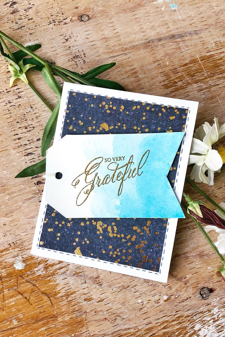 Gratitude Bonanza | handmade thank you card | 5 Things to Give: Thanksgiving Host/Hostess Edition | Thoughtfully Handmade