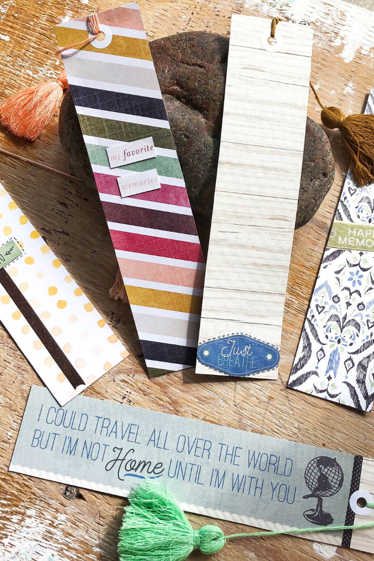 Kaleidoscope of Colours | handmade bookmarks | 5 Things to Give: Stationery Lover Edition | Thoughtfully Handmade