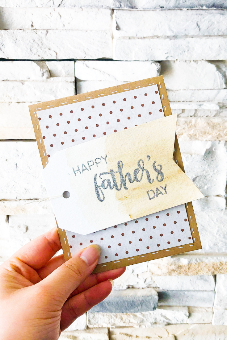 Man of the Hour   Handmade Father's Day Card   5 Things to Give: Father's Day 2021 Edition   Thoughtfully Handmade