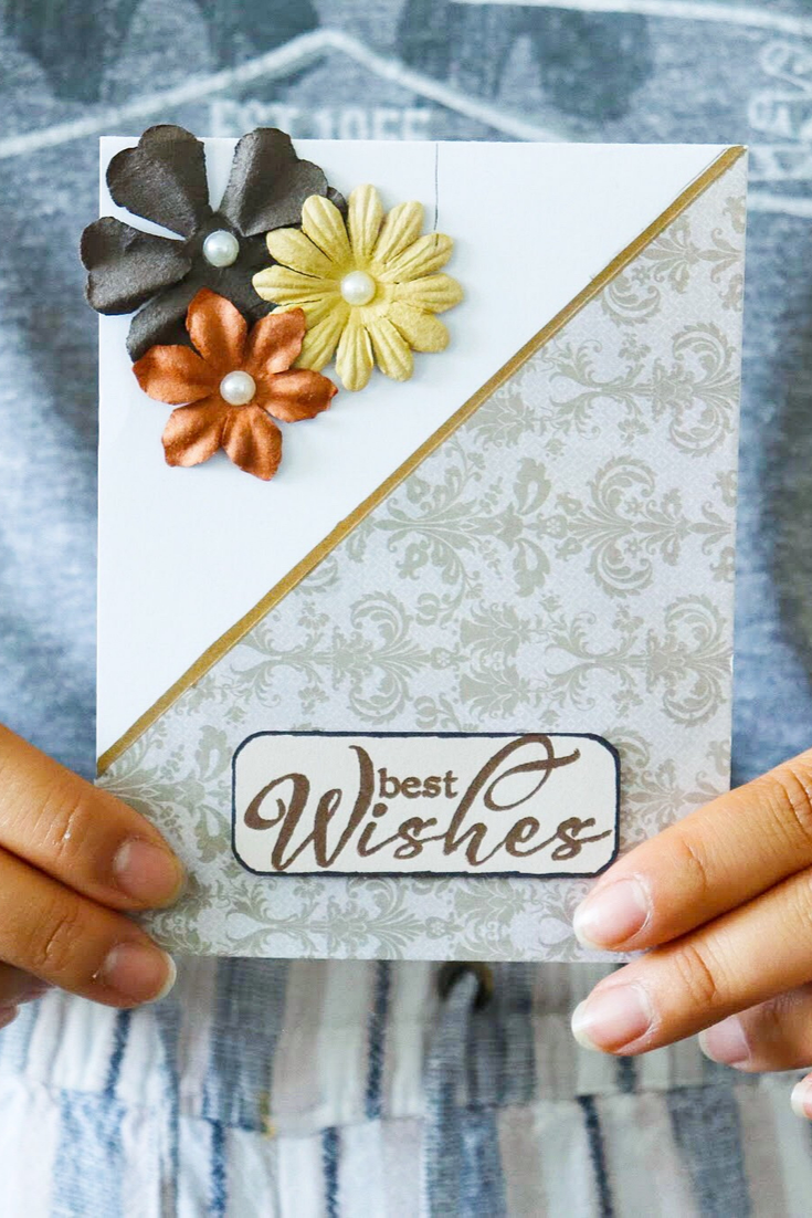 A Hepburn Wish | handmade general greeting card autumn colours | 5 Things to Give: Fall Lover Edition | Thoughtfully Handmade