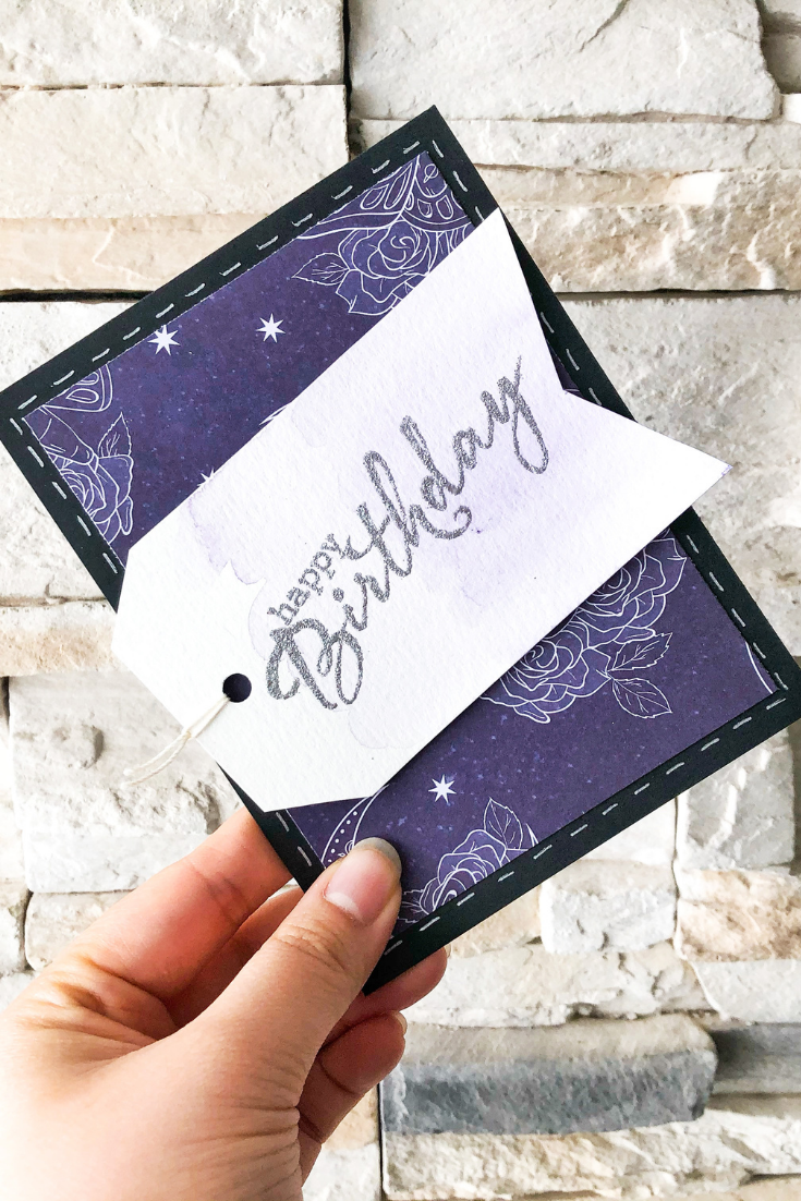 Birthday Bonanza | Purple Variant | Handmade Birthday Card | 5 Things to Give: Foodie Edition | Thoughtfully Handmade