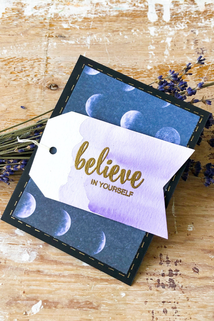 You Got This | handmade self-love card with poetry inside | 5 Things to Give: Mental Health Edition | Thoughtfully Handmade