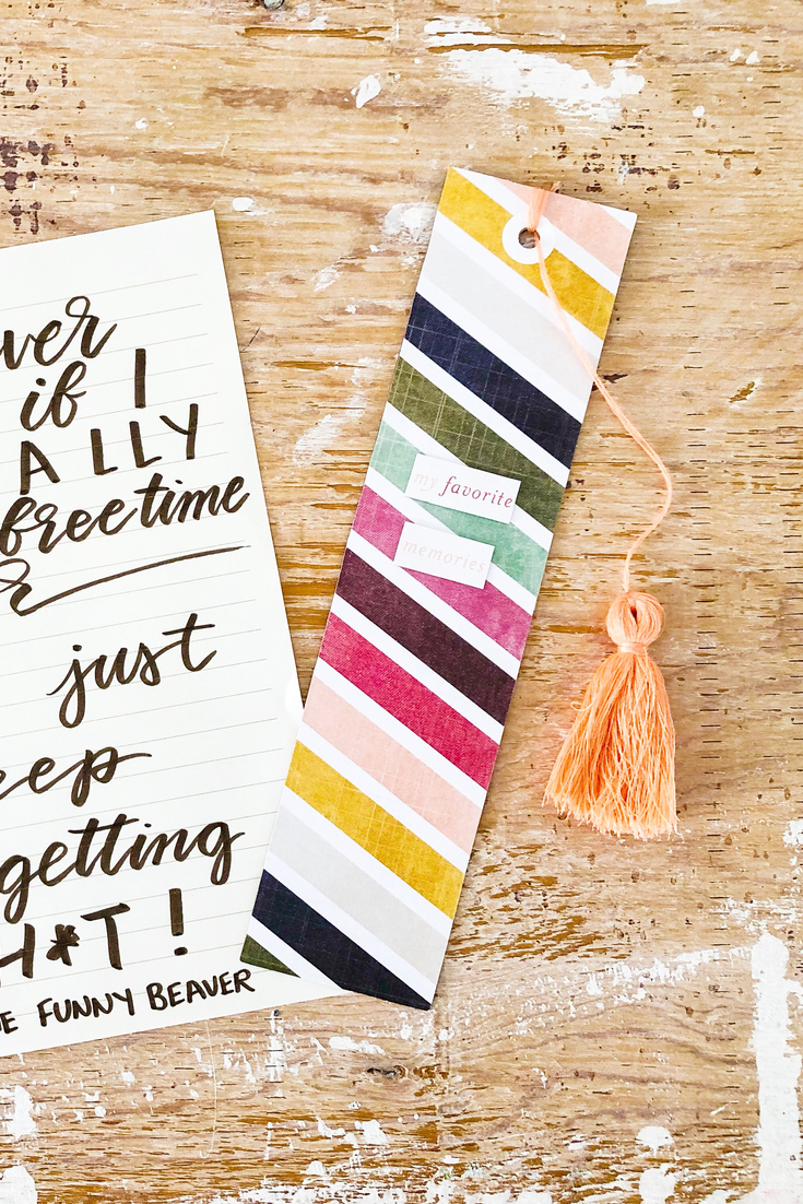 Kaleidoscope of Colours | handmade bookmark | 5 Things to Give: Fall Lover Edition | Thoughtfully Handmade
