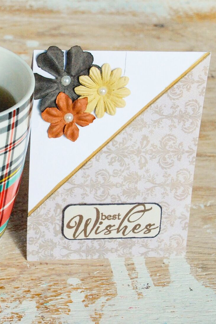 A Hepburn Wish | handmade thank you card | 5 Things to Give: Thanksgiving Host/Hostess Edition | Thoughtfully Handmade